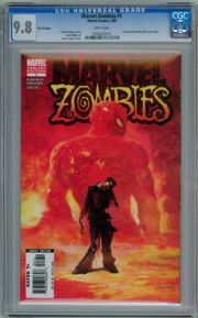 Marvel Zombies #1 3rd Print 2006 CGC 9.8 Robert Kirkman Marvel comic book